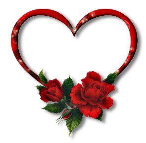 Coeur - Coeur avec des fleurs ...