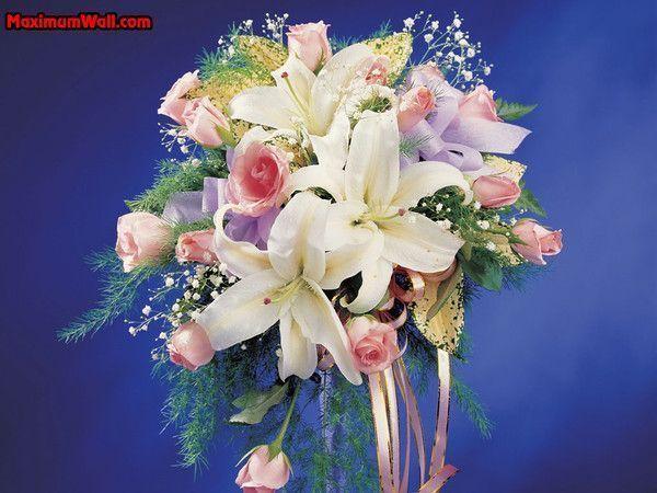 fonds d'ecran bouquets de fleurs