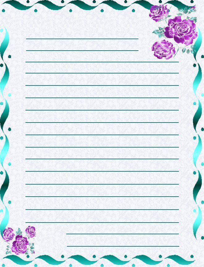 Papier a lettres - Lettres a imprimer ...